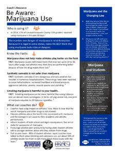 TIP 5 Coach's Resources edits Marijuana 10.15.19