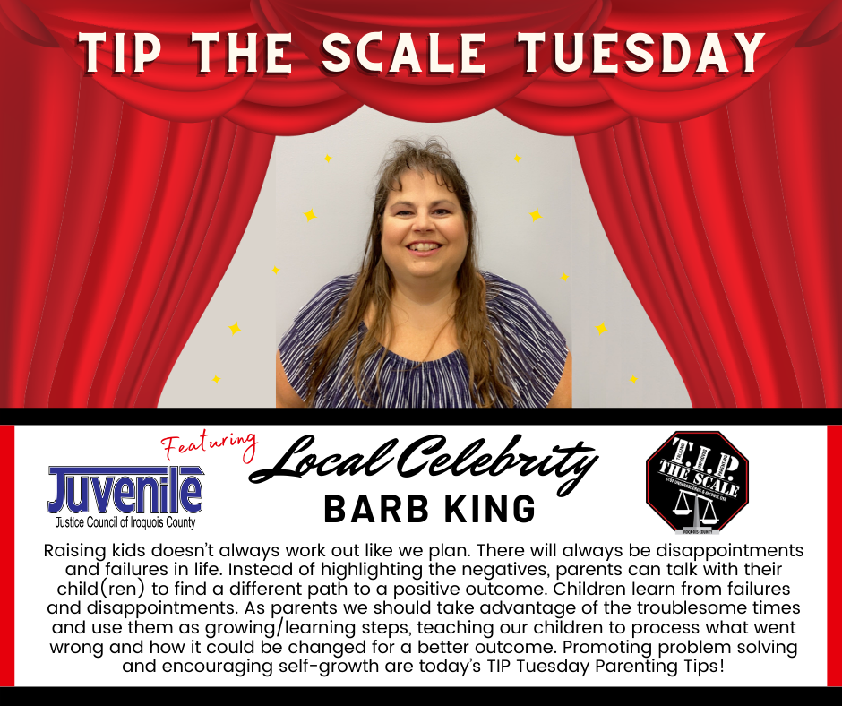 TIP Celebrity Feature Barb King Graphic