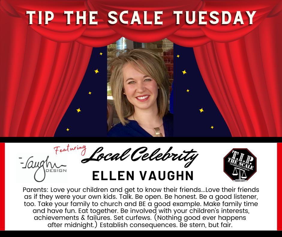 TIP Celebrity Feature Ellen Vaughn Graphic