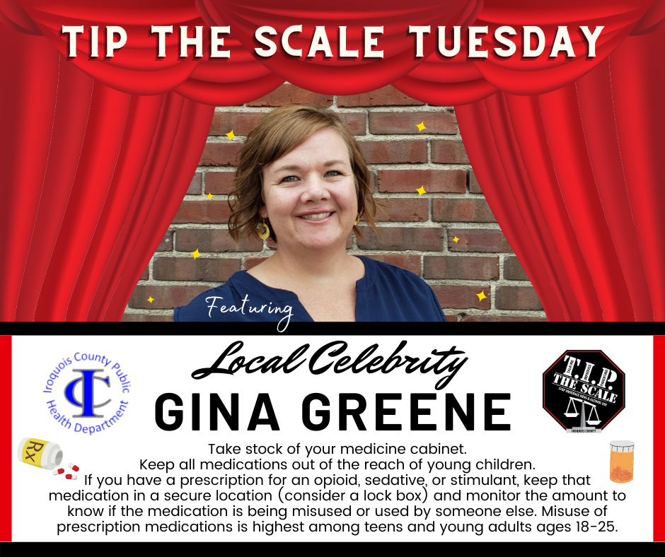 TIP Celebrity Feature Gina Greene FB Graphic