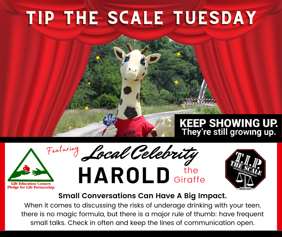 TIP Celebrity Feature Harold the Giraffe FB Graphic