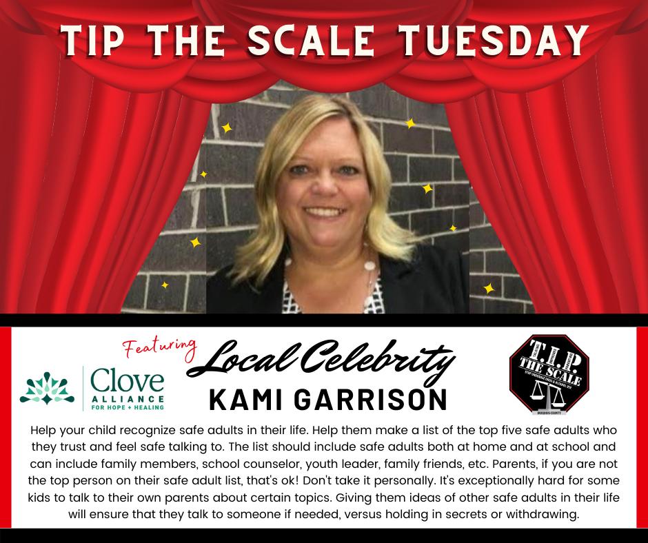 TIP Celebrity Feature Kami Garrison FB Graphic