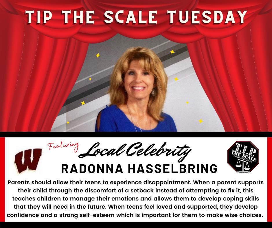 TIP Celebrity Feature RaDonna Hasselbring Facebook Graphic