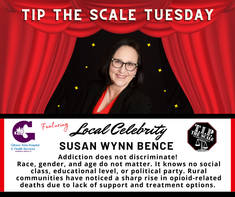 TIP Celebrity Feature Susan Bence FB Graphic