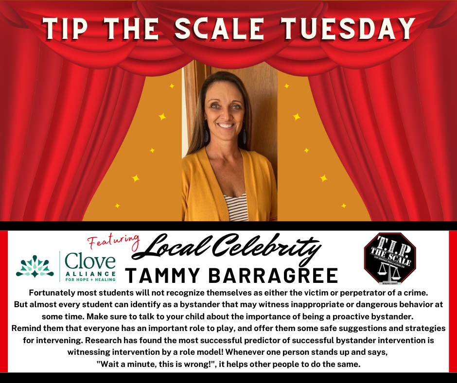 TIP Celebrity Feature Tammy Barragree Graphic